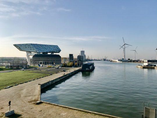 Fietsroute, fietsblog, review, Antwerpen, haven, Havenhuis