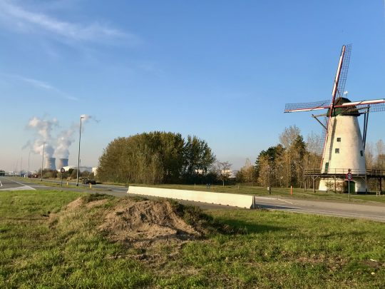 Fietsroute, fietsblog, review, Antwerpen, haven, windmolen, Eenhoorn