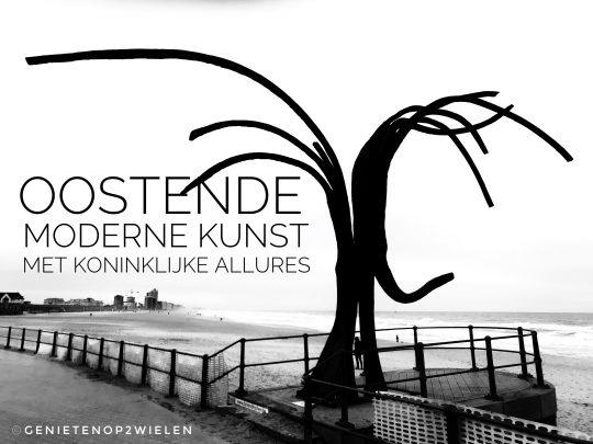 Fietsroute, fietsblog, Oostende, Dansende Golven, Patrick Steen