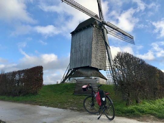 Fietsroute, fietsblog, review, Vlaamse Ardennen, Kerkem, Bossenaremolen, tukmolen