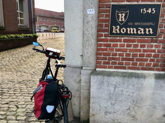 Fietsroute, fietsblog, review, Brouwerij Roman