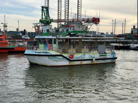 Fietsroute, fietsblog, Oostende, Beaufort, Veerboot, Roger Raveel