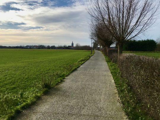 Fietsroute, fietsblog, Leffinge