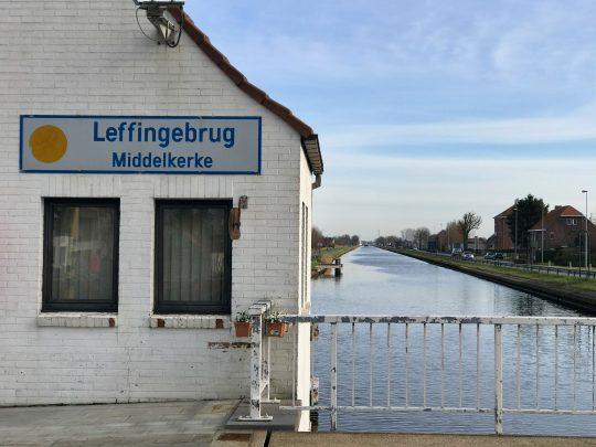 Fietsroute, fietsblog, Middelkerke, Leffingebrug