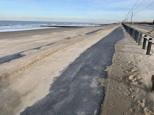 Fietsroute, fietsblog, Middelkerke, zeedijk