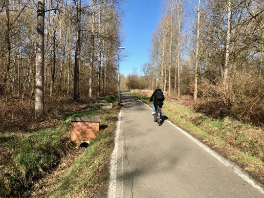 Fietsroute, fietsblog, Rotselaar, Meanderpad