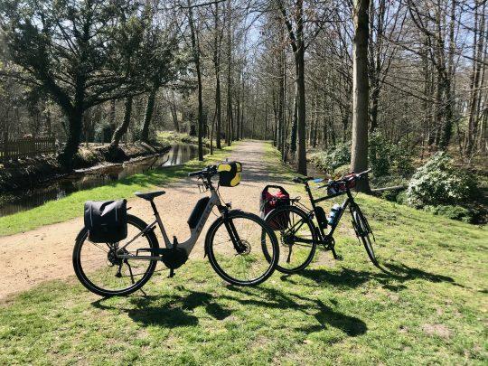 Fietsroute, fietsblog, geuzenbaan, fietsparadijs, Duinengordel, Abeek, Hoogmolen, watermolen