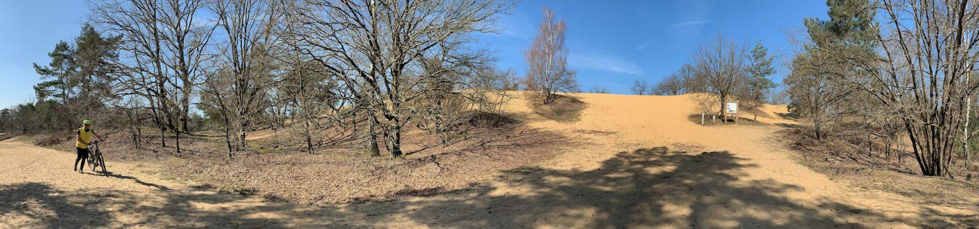 Fietsroute, fietsblog, fietsparadijs, duinengordel, Oudsbergen, Oudsbergen, zandduin, landduin