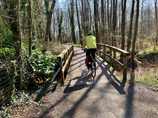Fietsroute, fietsblog, geuzenbaan, fietsparadijs, Bosbeekvallei, Opoeteren