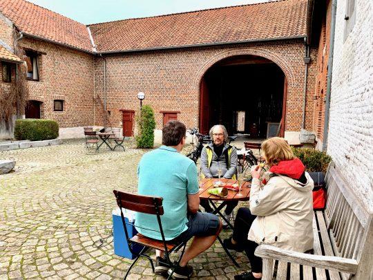 Fietsroute, fietsblog, fietsparadijs, Limburg, fruitstreek, Batsheers, Domein Marsnil