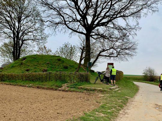 Fietsroute, fietsblog, fietsparadijs, Limburg, Haspengouw, Vechmaal, tumulus