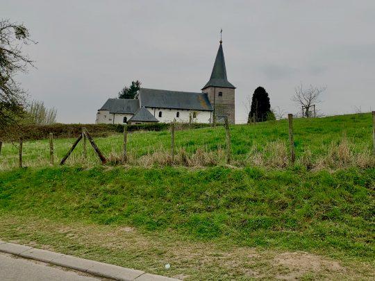 Fietsroute, fietsblog, fietsparadijs, Limburg, Haspengouw, Grootloon, Sint-Servatiuskerk