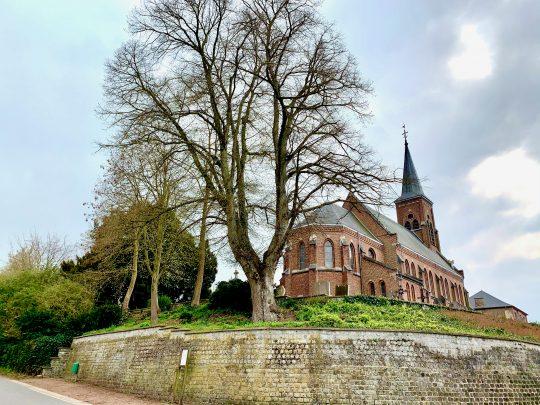 Fietsroute, fietsblog, fietsparadijs, Limburg, Klein-Gelmen, Onze-Lieve-Vrouw-Boodschapskerk