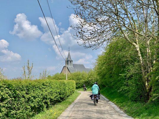 Fietsroute, fietsblog, fietsparadijs, Limburg, Haspengouw, Bloesemroute, Buvingen