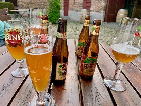 Fietsroute, fietsblog, fietsparadijs, Limburg, Haspengouw, Binkbier