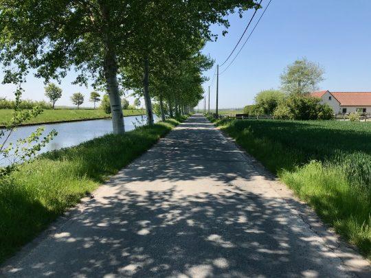 Fietsroute, fietsblog, review, fietsverslag, Kanaal Veurne-Duinkerke
