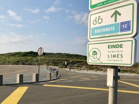 Fietsroute, fietsblog, review, fietsverslag, LF Kustroute, Katwijk, Limesroute