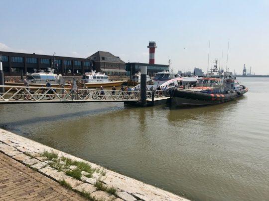 Fietsroute, fietsblog, review, fietsverslag, LF Kustroute, Fast Ferry, Hoek van Holland, Maasvlakte