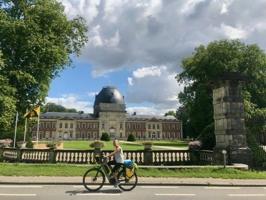 Fietsroute, fietsblog, review, fietsverslag, taalgrensroute, taalgrens, Château d'Hélécine