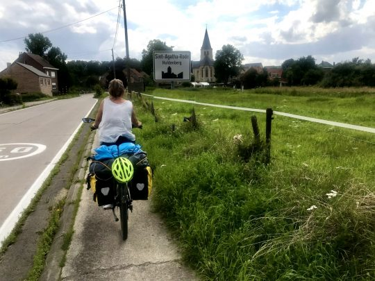 Fietsroute, fietsblog, review, fietsverslag, taalgrensroute, taalgrens, Huldenberg