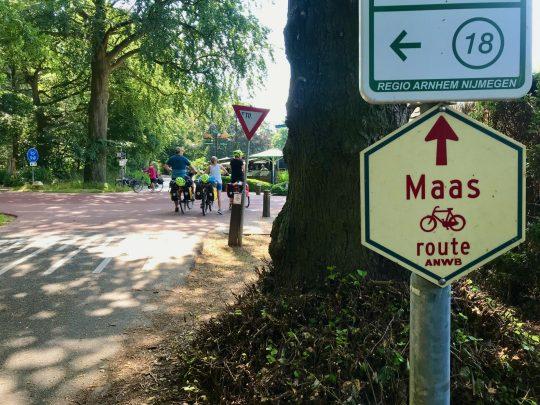 Fietsroute, fietsblog, review, fietsverslag, LF Maasroute