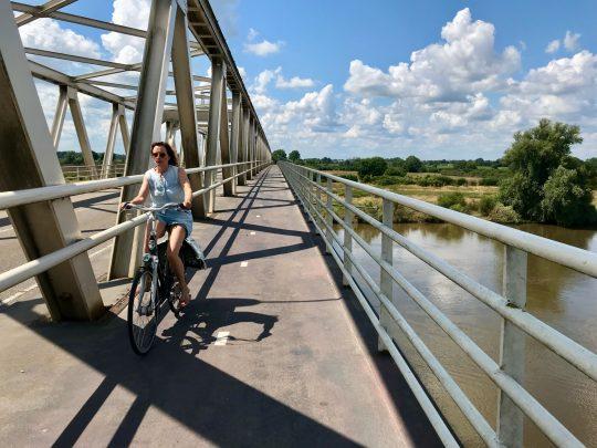 Fietsroute, fietsblog, review, fietsverslag, LF Maasroute, Gennep, Maasbrug