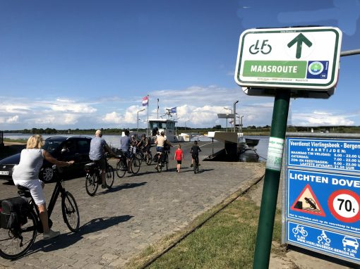 Fietsroute, fietsblog, review, fietsverslag, LF Maasrouten Vierlingsbeek, veerpont, Bergen