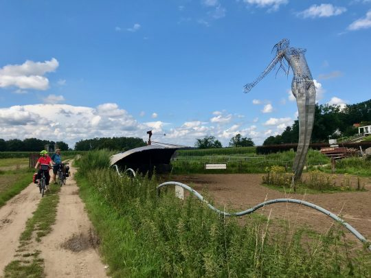 Fietsroute, fietsblog, review, fietsverslag, LF Maasroute, Beesel