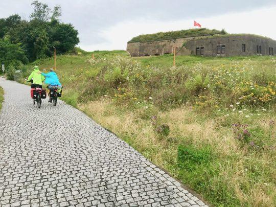 Fietsroute, fietsblog, review, fietsverslag, LF Maasroute, Fort Sint-Pietersberg, Maastricht
