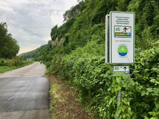 Fietsroute, fietsblog, review, fietsverslag, LF Maasroute, La Meuse à Vélo, Kanne
